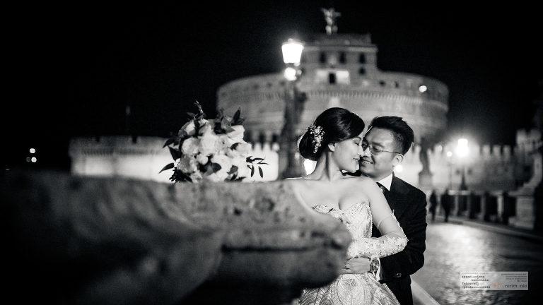 foto sposi sant'angelo roma