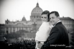 Fotografo Matrimonio Roma - Foto Servizio Fotografico Matrimoniale - Esterni